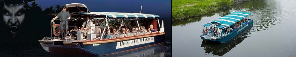Haunted River Boat Tours