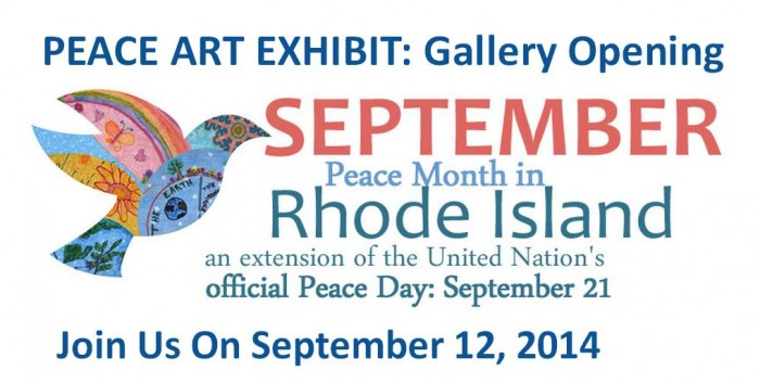 The Peach Flag Project Gallery Exhibition