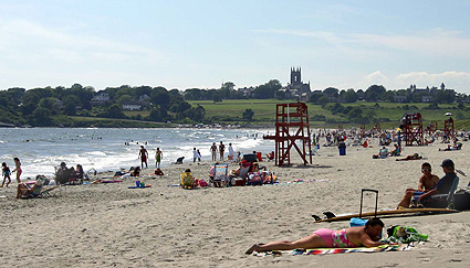 Newport's Second Beach