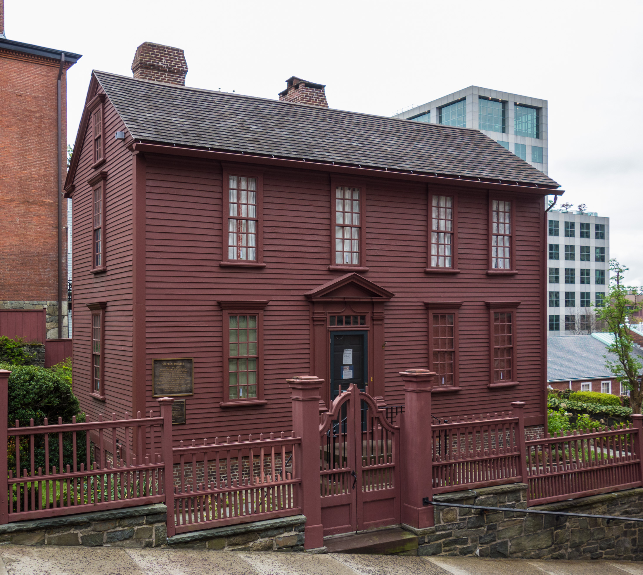 Stephen Hopkins House, Providence, RI in 2014