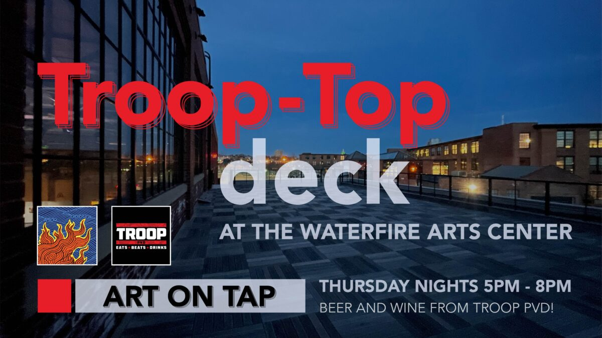 TroopTop Deck Brings Hoppy Vibes to the WaterFire Arts Center